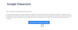 mecanografía google classroom