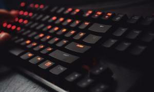 teclado para aprender mecanografía